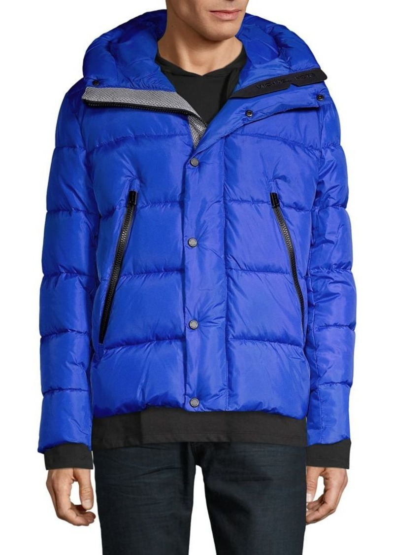 Michael Kors Hooded Puffer Jacket