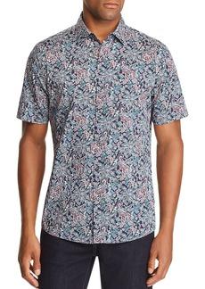 Michael Kors Ike Short-Sleeve Slim Fit Shirt