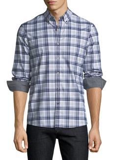 Michael Kors Jase Check Slim-Fit Sport Shirt