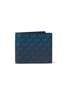 Michael Kors Jet Set Monogram RFID-Protection Wallet