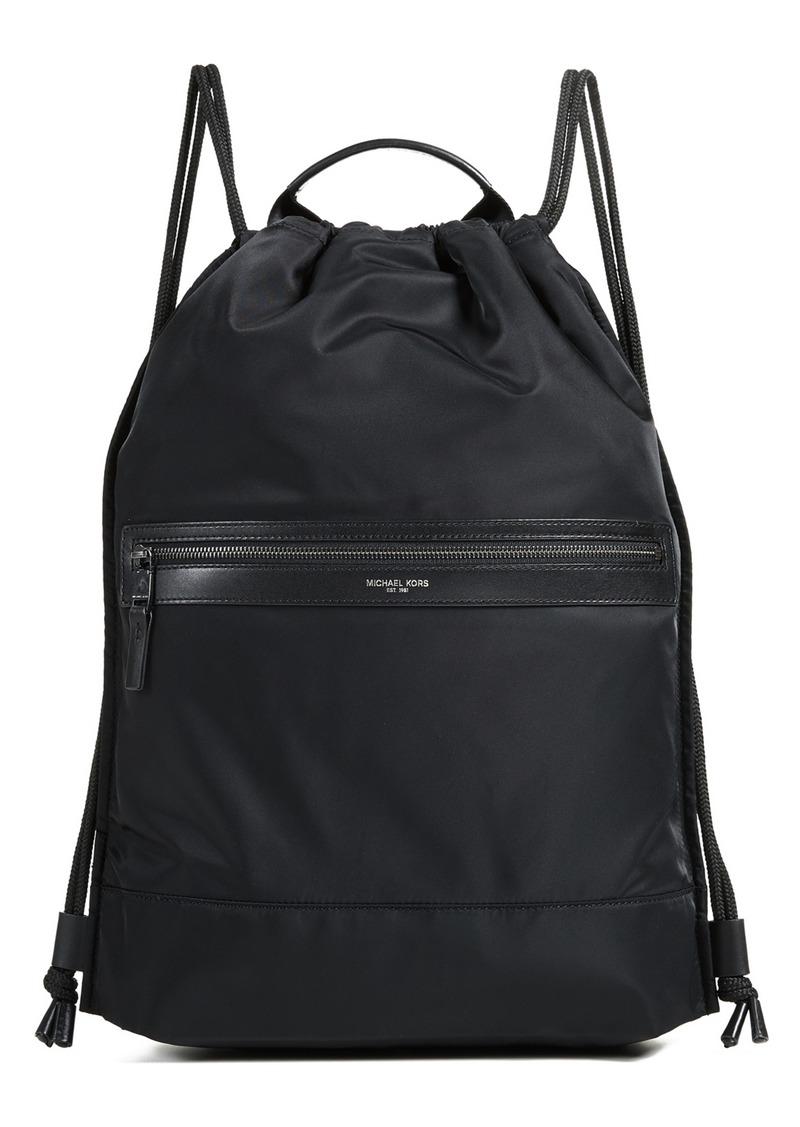 80408ec923f4 SALE! Michael Kors Michael Kors Kent Flat Drawstring Backpack