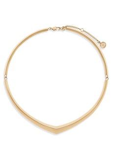 Michael Kors Knife-Edge Collar Necklace