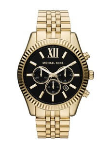 Michael Kors Lexington Chronograph Goldtone Bracelet Watch