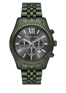 Michael Kors Lexington IP Chronograph Watch