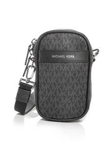 Michael Kors Logo Print Phone Crossbody