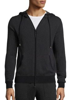 Michael Kors Long Sleeve Cotton Hoodie