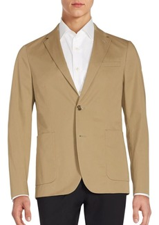 Michael Kors Long Sleeve Cotton Jacket