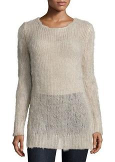 Michael Kors Long-Sleeve Slim-Fit Sweater