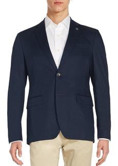 Michael Kors Long Sleeve Solid Jacket
