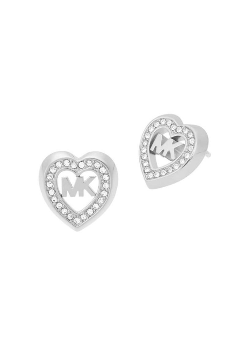bd52145744ef7 Love Is In The Air Crystal Heart Stud Earrings