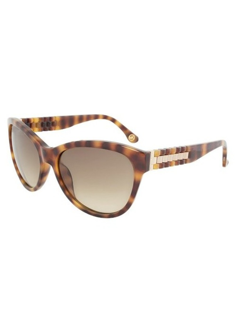 michael kors michael kors m2885s 240 olivia sunglasses tortoise frame brown gradient lenses. Black Bedroom Furniture Sets. Home Design Ideas