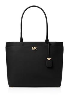 Michael Kors Maddie Large Leather Pocket Tote