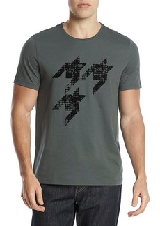 Michael Kors Men's Houndstooth Graphic Tee