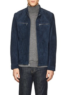 Michael Kors Men's Perforated Suede Jacket
