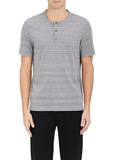 Michael Kors Men's Space-Dyed Cotton Jersey Henley