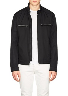 Michael Kors Men's Tech-Twill Moto Jacket