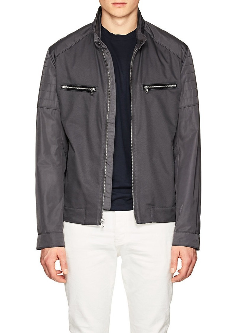 02c0829953ff Michael Kors Michael Kors Men's Tech-Twill Moto Jacket   Outerwear