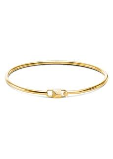 Michael Kors Mercer Padlock Flexi Bracelet in 14K Gold-Plated Sterling Silver, 14K Rose Gold-Plated Sterling Silver or Sterling Silver