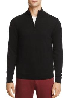 Michael Kors Merino Wool Half-Zip Sweater - 100% Exclusive