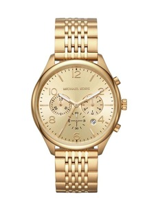 Michael Kors Merrick Stainless Steel Chronograph Bracelet Watch