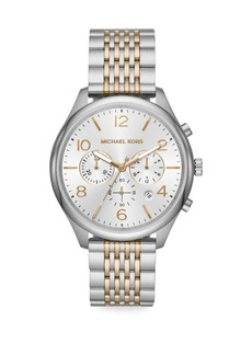 Michael Kors Merrick Two-Tone Stainless Steel Chronograph Watch
