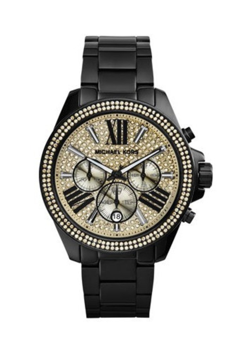 MICHAEL Michael Kors Mid-Size Two-Tone Stainless Steel Wren Chronograph Watch