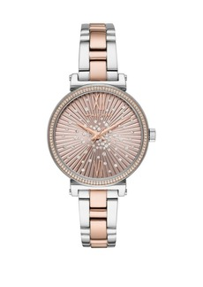 Michael Kors Mini Sofie Two-Tone Bracelet Watch