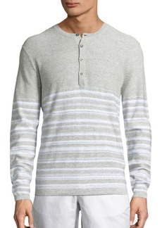 Michael Kors Mix Texture Heathered Henley