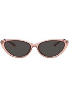 Michael Kors cat eye frame tinted sunglasses