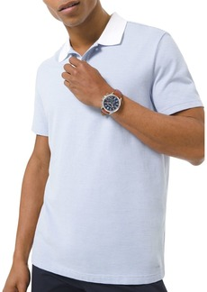 Michael Kors Novelty Jacquard Classic Fit Polo Shirt