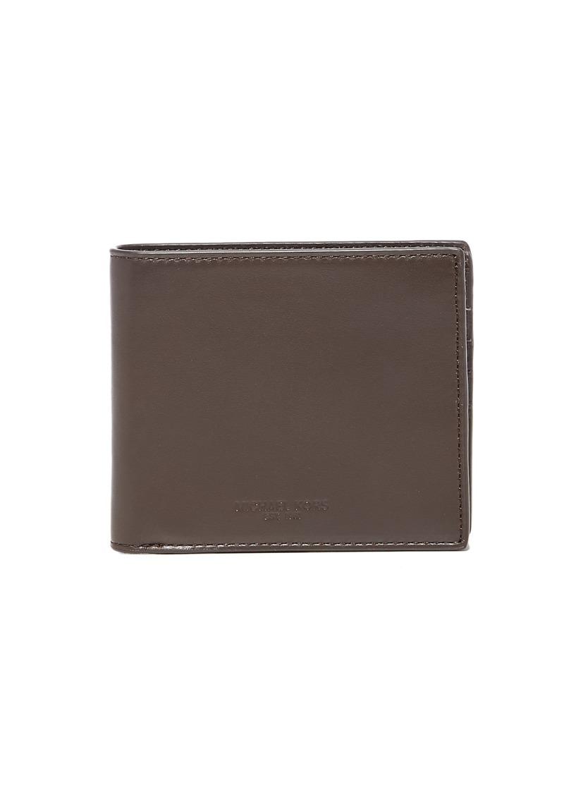 f376d70bd714f4 Michael Kors Michael Kors Odin Leather Billfold | Bags