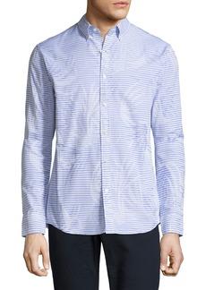 Michael Kors Palm Jacquard Slim-Fit Sport Shirt