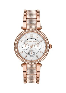 Michael Kors Parker Multifunction Stainless Steel Bracelet Watch
