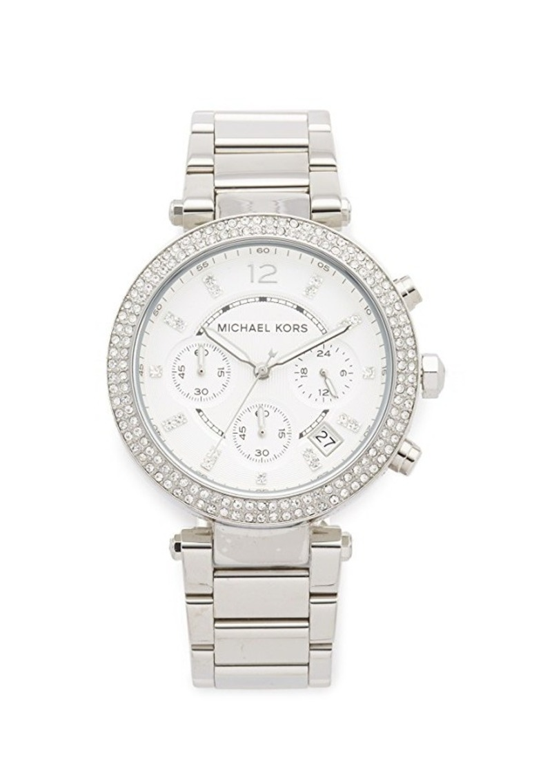 Michael kors michael kors parker watch jewelry shop it for Michael b jewelry death