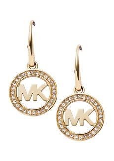 Michael Kors Pav� Logo Earrings