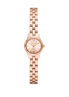 Michael Kors Petite Runway Stainless Steel Bracelet Watch