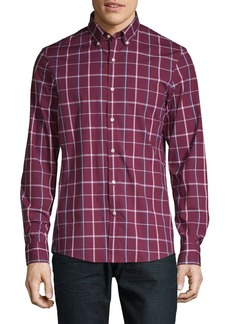 Michael Kors Plaid Button-Down Shirt
