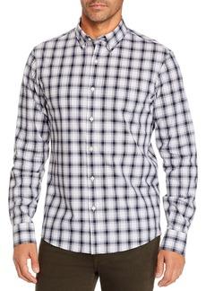Michael Kors Plaid Slim Fit Button-Down Shirt