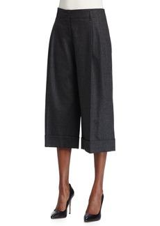 Michael Kors Pleated-Front Culotte Pants