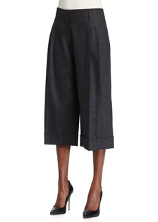 Michael Kors Pleated-Front Culotte Pants