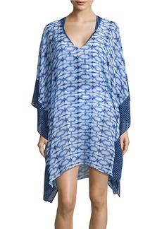 MICHAEL MICHAEL KORS Printed Chiffon Cover-Up Dress