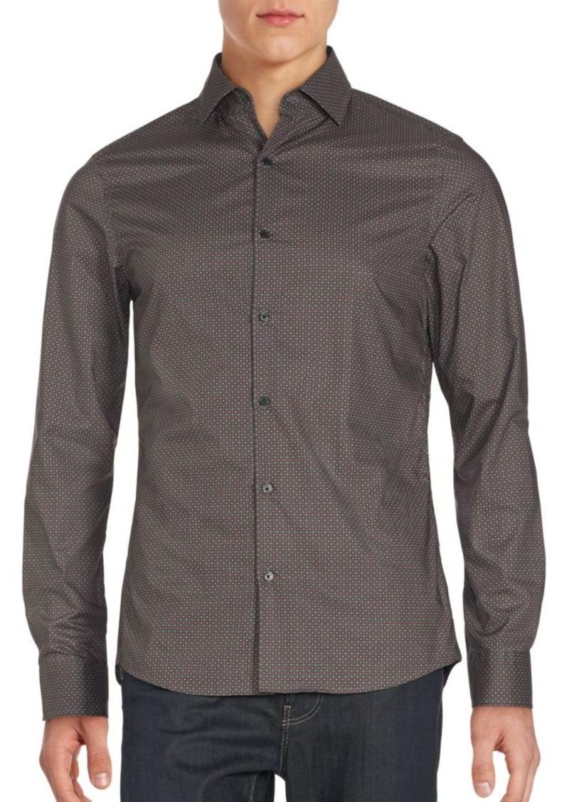 Michael Kors Printed Cotton Shirt