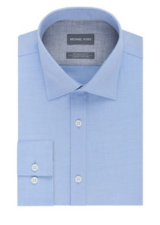 Michael Kors Regular Fit Airsoft Cotton Dress Shirt