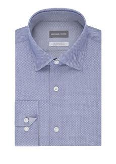 Michael Kors Regular-Fit Airsoft Cotton Dress Shirt