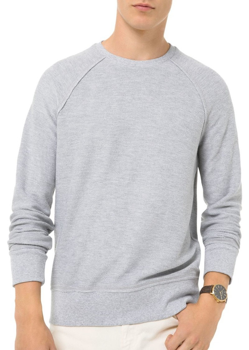 Michael Kors Reverse-Cut Sweatshirt