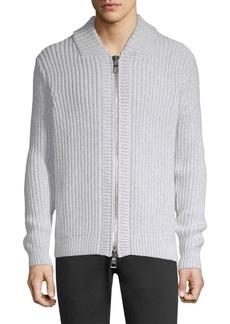 Michael Kors Ribbed Cotton Cardigan