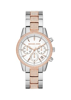 Michael Kors Ritz Chronograph Two-Tone Stainless Steel Bracelet Watch