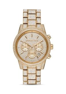 Michael Kors Ritz Link Bracelet Chronograph, 41mm