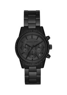 Michael Kors Ritz Stainless Steel Chronograph Watch