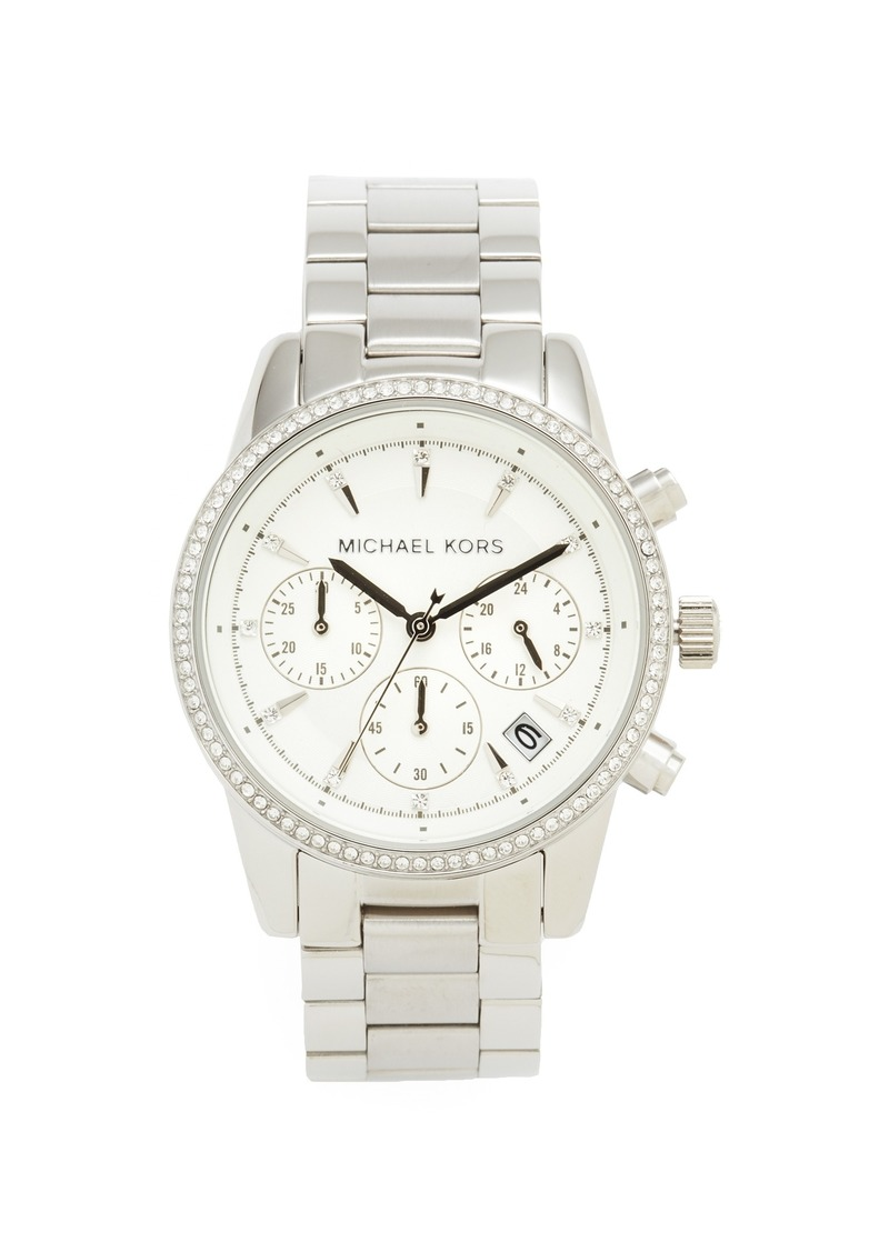 Michael kors michael kors ritz watch jewelry shop it to me for Michael b jewelry death